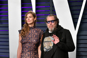 Louise Kugelberg and Julian Schnabel attend the 2019 Vanity Fair Oscar Party hosted by Radhika Jones at Wallis Annenberg Center for the Performing Arts on February 24, 2019 in Beverly Hills, California.