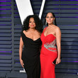 Tracee Ellis Ross and Diana Ross