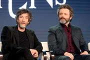 Neil Gaiman and Michael Sheen Photos Photo