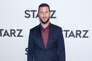 Pablo Schreiber attends the 2019 Winter TCA Tour - STARZ Red Carpet Event at 71Above on February 12, 2019 in Los Angeles, California.