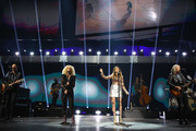 (EDITORIAL USE ONLY. NO COMMERCIAL USE)  Jimi Westbrook, Kimberly Schlapman, Karen Fairchild, and Philip Sweet of Little Big Town perform onstage during the 2019 iHeartCountry Festival Presented by Capital One at the Frank Erwin Center on May 4, 2019 in Austin, Texas.