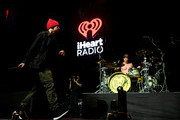 <<EDITORIAL USE ONLY. NO COMMERCIAL USE>> (L-R) Tyler Joseph and Josh Dun of Twenty One Pilots perform on stage during 2019 iHeartRadio ALTer Ego at The Forum on January 19, 2019 in Inglewood, California.