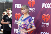 Taylor Swift attends the 2019 iHeartRadio Music Awards which broadcasted live on FOX at Microsoft Theater on March 14, 2019 in Los Angeles, California.