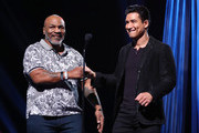 Mario Lopez and Mike Tyson Photos Photo