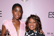 (L-R) Honoree Lashana Lynch and Alfre Woodard pose during the 2020 13th Annual ESSENCE Black Women in Hollywood Luncheon at Beverly Wilshire, A Four Seasons Hotel on February 06, 2020 in Beverly Hills, California.