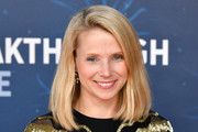 Marissa Mayer attends the 2020 Breakthrough Prize Red Carpet at NASA Ames Research Center on November 03, 2019 in Mountain View, California.