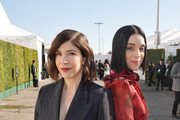 (L-R) Carrie Brownstein and St. Vincent attend the 2020 Film Independent Spirit Awards on February 08, 2020 in Santa Monica, California.