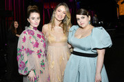 (L-R) Kaitlyn Dever, Olivia Wilde and Beanie Feldstein attend the 2020 Film Independent Spirit Awards on February 08, 2020 in Santa Monica, California. (Photo by Amy Sussman/Getty Images for Film Independent