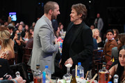 (L-R) Shia LaBeouf and Willem Dafoe attend the 2020 Film Independent Spirit Awards on February 08, 2020 in Santa Monica, California.