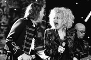 "Retransmission with alternate crop.) (L-R) Brandi Carlile and Cyndi Lauper perform onstage during the Pre-GRAMMY Gala and GRAMMY Salute to Industry Icons Honoring Sean ""Diddy"" Combs on January 25, 2020 in Beverly Hills, California."