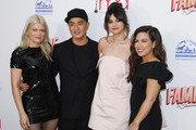 (L-R) Kate Young, Hung Vanngo, Selena Gomez and Marissa Marino attend the 2020 Hollywood Beauty Awards at The Taglyan Complex on February 06, 2020 in Los Angeles, California.