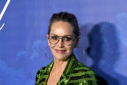 Sharon Stone arrives at the 2020 Hollywood For The Global Ocean Gala Honoring HSH Prince Albert II Of Monaco at Palazzo di Amore on February 06, 2020 in Beverly Hills, California.
