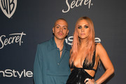 (L-R) Evan Ross and Ashlee Simpson attend The 2020 InStyle And Warner Bros. 77th Annual Golden Globe Awards Post-Party at The Beverly Hilton Hotel on January 05, 2020 in Beverly Hills, California.