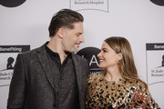 Sofia Vergara and Joe Manganiello arrive at the 2020 LA Art Show Opening Night at Los Angeles Convention Center on February 05, 2020 in Los Angeles, California.