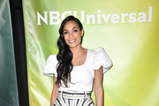 Rosario Dawson attends the 2020 NBCUniversal Winter Press Tour 45 at The Langham Huntington, Pasadena on January 11, 2020 in Pasadena, California.