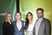Kim Dickens, Andy Greenwald, Rosario Dawson, Jay R. Ferguson attends the 2020 NBCUniversal Winter Press Tour 45 at The Langham Huntington, Pasadena on January 11, 2020 in Pasadena, California.