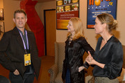 """John Nein, Patricia Clarkson and  Radha Mitchell attend the 2020 Sundance Film Festival """"High Art"""" Premiere at Egyptian Theater on February 01, 2020 in Park City, Utah."""