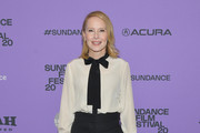 """Amy Ryan attends the 2020 Sundance Film Festival - """"Lost Girls"""" Premiere at Eccles Center Theatre on January 28, 2020 in Park City, Utah."""