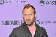 """Jude Law attends the 2020 Sundance Film Festival - """"The Nest"""" Premiere at Eccles Center Theatre on January 26, 2020 in Park City, Utah."""
