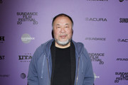 Ai Weiwei attends the 2020 Sundance Film Festival - Power Of Story: Just Art Panel at Egyptian Theatre on January 25, 2020 in Park City, Utah.