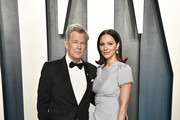 David Foster and Katharine McPhee attend the 2020 Vanity Fair Oscar Party hosted by Radhika Jones at Wallis Annenberg Center for the Performing Arts on February 09, 2020 in Beverly Hills, California.