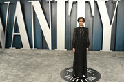 Gugu Mbatha-Raw attends the 2020 Vanity Fair Oscar Party hosted by Radhika Jones at Wallis Annenberg Center for the Performing Arts on February 09, 2020 in Beverly Hills, California.