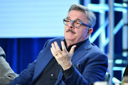 "Nathan Lane of ""Penny Dreadful: City of Angels"" speak during the Showtime segment of the 2020 Winter TCA Press Tour  at The Langham Huntington, Pasadena on January 13, 2020 in Pasadena, California."
