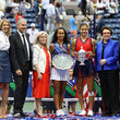 Stacey Allaster and Billie Jean King