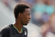 Gael Monfils of France looks on against Federico Coria of Argentina during his Men's Singles first round match on Day Two of the 2021 US Open at the Billie Jean King National Tennis Center on August 31, 2021 in the Flushing neighborhood of the Queens borough of New York City.