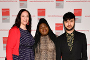 Melissa Norden, Gabourey Sidibe and Brad Walsh attend the 20th Anniversary Bottomless Closet Luncheon at Cipriani 42nd Street on May 15, 2019 in New York City.
