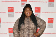 Gabourey Sidibe attends the 20th Anniversary Bottomless Closet Luncheon at Cipriani 42nd Street on May 15, 2019 in New York City.