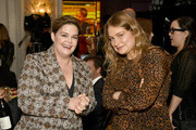 EVP of Original Programming at HBO Amy Gravitt and actor Merritt Wever attend the 20th Annual AFI Awards at Four Seasons Hotel Los Angeles at Beverly Hills on January 03, 2020 in Los Angeles, California.