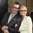 Jamie Lee Curtis and Jon Hamm