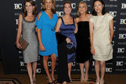 Television personalities Natalie Morales, Hoda Kotb, Kathie Lee Gifford, Meredith Vieira and Ann Curry attend the 20th Annual Broadcasting and Cable Hall of Fame Awards at The Waldorf Astoria on October 27, 2010 in New York City.