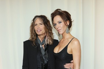 Steven Tyler Erin Brady 20th Annual Elton John AIDS Foundation Academy Awards Viewing Party - Red Carpet