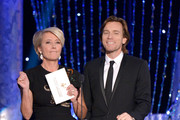 Actors Emma Thompson and Ewan McGregor speak onstage during the 20th Annual Screen Actors Guild Awards at The Shrine Auditorium on January 18, 2014 in Los Angeles, California.