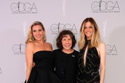 (L-R) Actors June Diane Raphael, Lily Tomlin, and Brooklyn Decker attend the Costume Designers Guild Awards at The Beverly Hilton Hotel on February 20, 2018 in Beverly Hills, California.