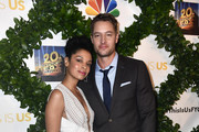 """Susan Kelechi Watson and  Justin Hartley  attend 20th Century Fox Television And NBC's """"This Is Us"""" FYC Screening And Panel at The Theatre at Ace Hotel on May 29, 2018 in Los Angeles, California."""