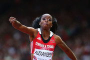 Ayanna Alexander of Trinidad and Tobago competes in the Women's Triple Jump final at Hampden Park during day six of the Glasgow 2014 Commonwealth Games on July 29, 2014 in Glasgow, United Kingdom.