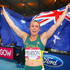 Sally Pearson Photos - Sally Pearson of Australia celebrates winning gold in the Women's 100 metres hurdles finalat Hampden Park during day nine of the Glasgow 2014 Commonwealth Games on August 1, 2014 in Glasgow, United Kingdom. - 20th Commonwealth Games: Athletics