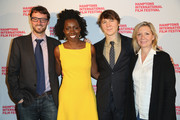 (L-R) Hamptons International Film Festival Artistic Director David Nugent, actors Adepero Oduye and Paul Dano, and Hamptons International Film Festival Executive Director Anne Chaisson attend the 21st Annual Hamptons International Film Festival Closing Day on October 14, 2013 in East Hampton, New York.