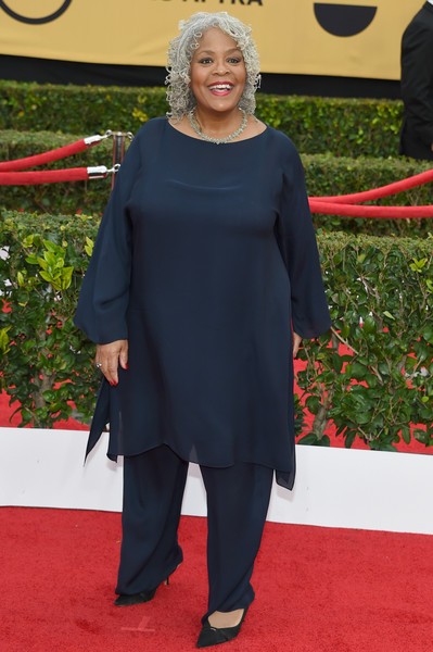 Actress Yvette Freeman attends the 21st Annual Screen Actors Guild Awards at The Shrine Auditorium on January 25, 2015 in Los Angeles, California.