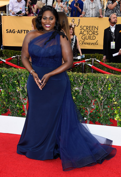 Actress Danielle Brooks attends the 21st Annual Screen Actors Guild Awards at The Shrine Auditorium on January 25, 2015 in Los Angeles, California.
