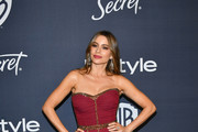 Sofía Vergara attends the 21st Annual Warner Bros. And InStyle Golden Globe After Party at The Beverly Hilton Hotel on January 05, 2020 in Beverly Hills, California.