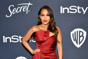 Adrienne Bailon attends the 21st Annual Warner Bros. And InStyle Golden Globe After Party at The Beverly Hilton Hotel on January 05, 2020 in Beverly Hills, California.