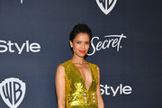 Gugu Mbatha-Raw attends the 21st Annual Warner Bros. And InStyle Golden Globe After Party at The Beverly Hilton Hotel on January 05, 2020 in Beverly Hills, California.