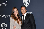 (L-R) Liz Goodwin and Jason Lewis attend the 21st Annual Warner Bros. And InStyle Golden Globe After Party at The Beverly Hilton Hotel on January 05, 2020 in Beverly Hills, California.