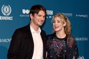 Josh Hartnett and Tamsin Egerton attend the 21st British Independent Film Awards at Old Billingsgate on December 02, 2018 in London, England.