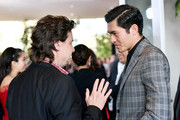 John Penotti (L) and Henry Golding attend the 22nd Annual Hollywood Film Awards at The Beverly Hilton Hotel on November 4, 2018 in Beverly Hills, California.