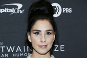 Comedian Sarah Silverman attends the 22nd Annual Mark Twain Prize for American Humor at The Kennedy Center on October 27, 2019 in Washington, DC.